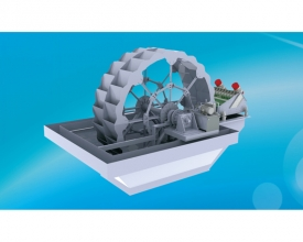 Hydraulic Dewatering Multi-functional Wheel Sand Washer